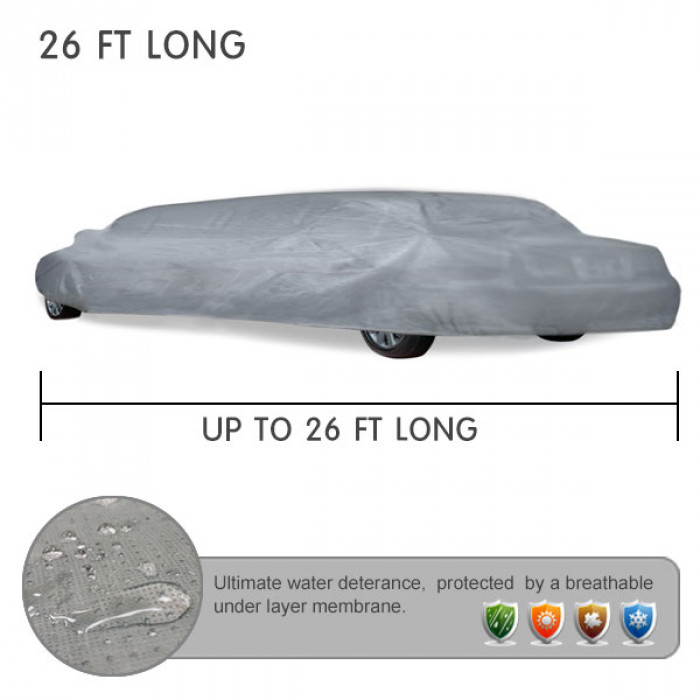 UP TO 26 FT LONG LIMO COVERS for